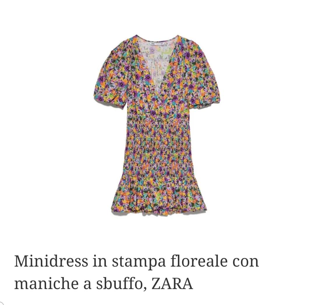 I Mini dress sono il trend di stagione