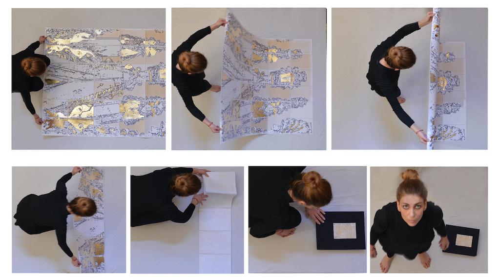 Angela Florio con DecorAzione® raggiunge la quarta dimensione