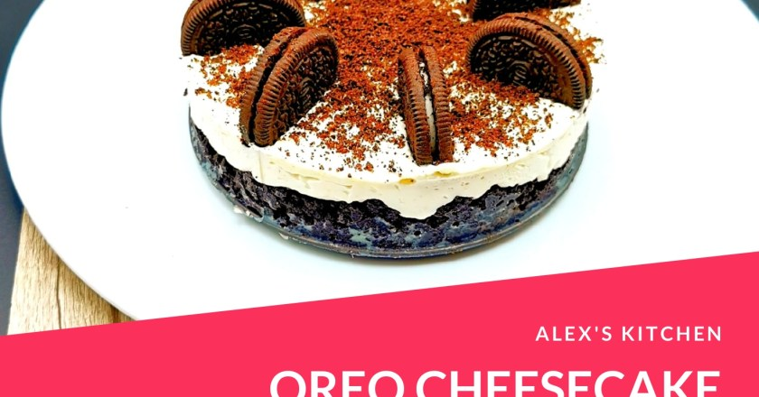 Alex's Kitchen – la mia Oreo Cheesecake