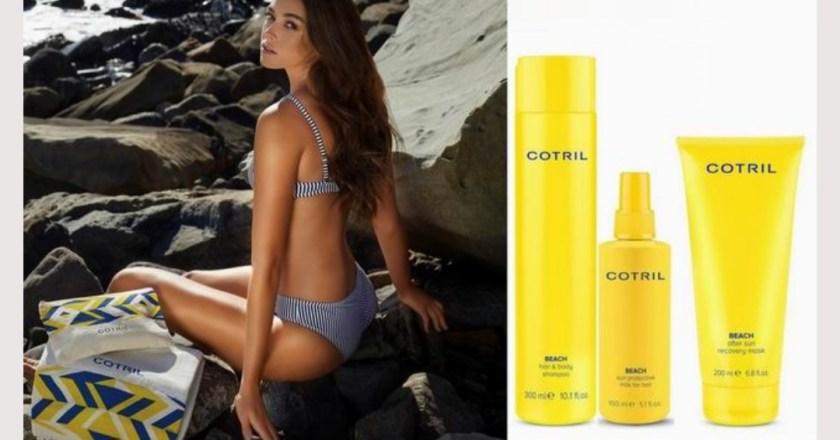 Arriva Cotril Beach 2021 la linea di hair care per godersi le vacanze in serenità