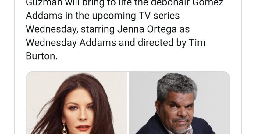 Katherine Zeta Jones sarà Mortifica Addams nella nuova serie Addams