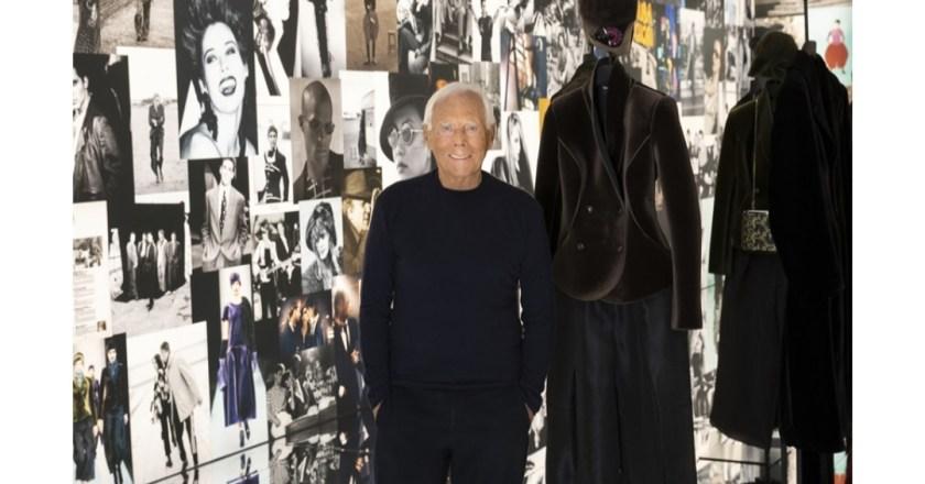 Giorgio Armani è in mostra con The way we are