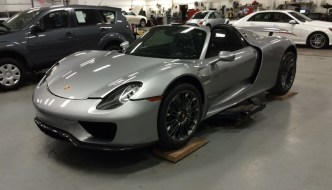 Porsche 918 Spyder Paint Protection