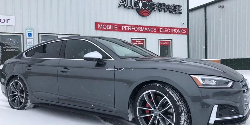 Audi S5 Sportback Window Tint for Fargo Client