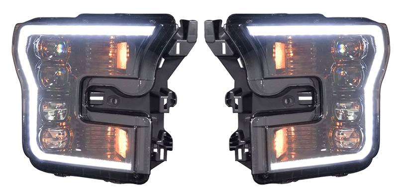 The Advantages of Upgraded Headlights