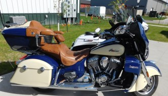 Indian Roadmaster Audio