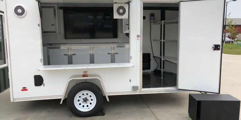 Custom Tailgating Trailer Audio Upgrade for Fargo Client