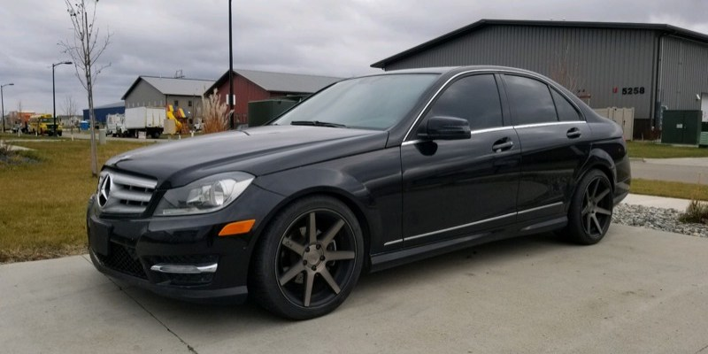Minot Client Adds Remote Start to 2012 Mercedes C300