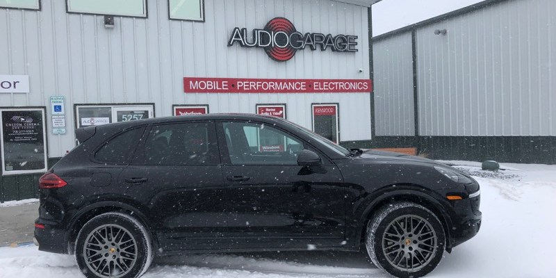 Porsche Cayenne from Fargo Gets Remote Start System