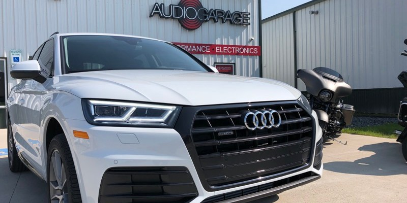 2019 Audi Q5 Gets SunTek Window Tint and Paint Protection Upgrade