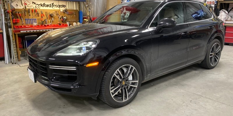 2019 Porsche Cayenne Turbo Gets 3X Lock Remote Start Upgrade