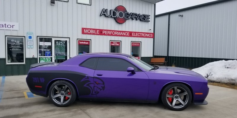 SunTek Window Tint Upgrade for Plum Crazy 2019 Dodge Challenger Hellcat