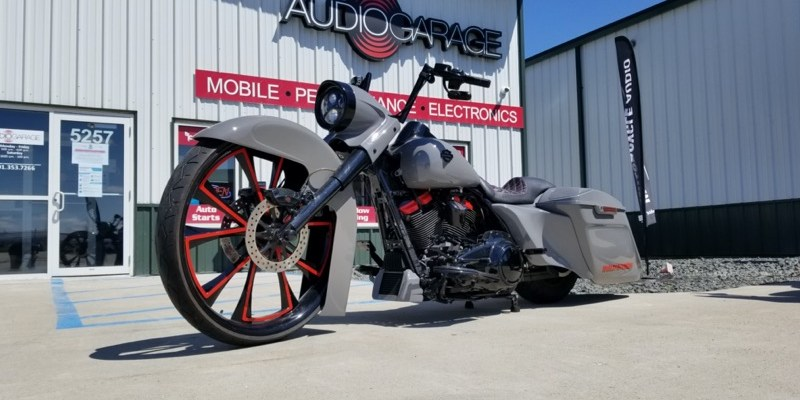 Harley-Davidson Road King Stereo Rescue for Fargo Client
