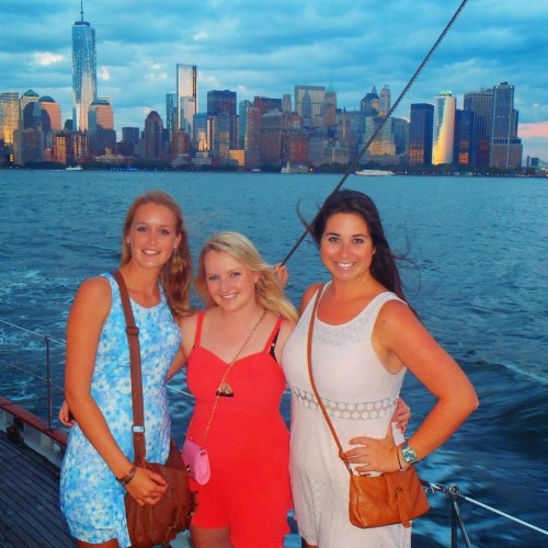 Girls sailing in NYC