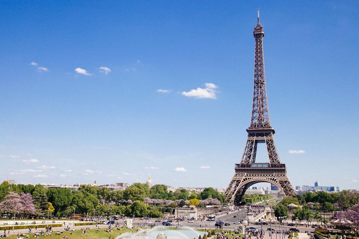 Eiffel Tower Romantic Destinations around the world