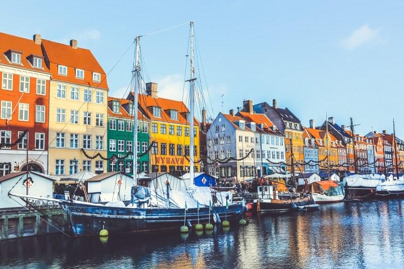 Copenhagen Denmark Canal