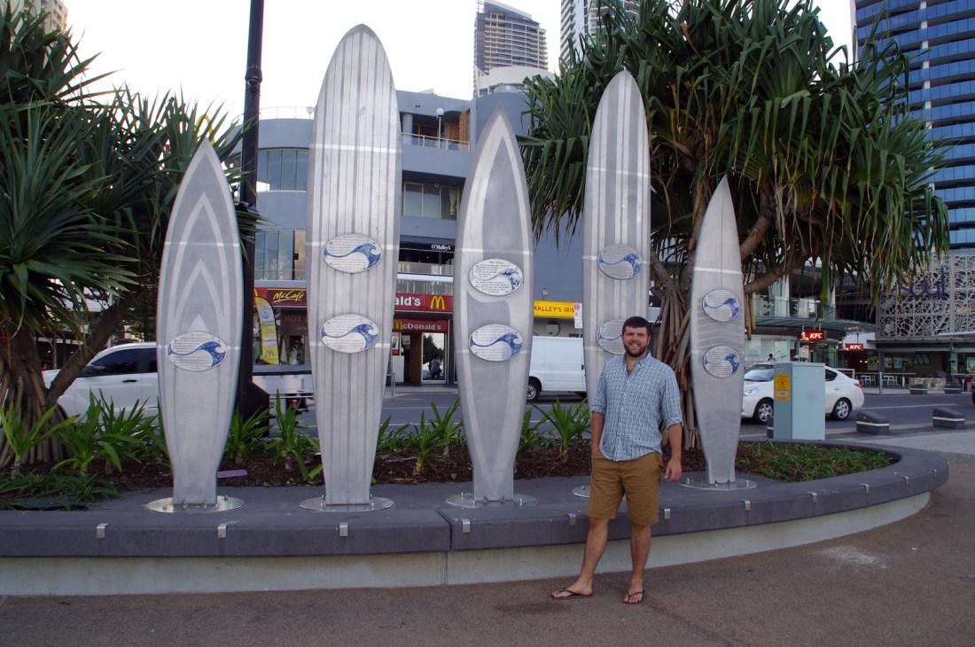Dan in Surfers paradise
