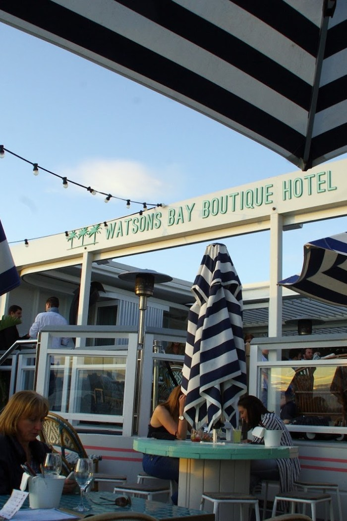 Cocktails & Stunning Harbour Views at the Beach Club Watsons Bay