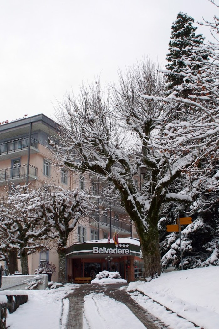 A Winter Wonderland at Luxurious Hotel Belvedere Grindelwald