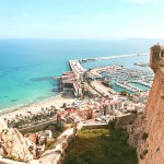 Alicante Spain from above