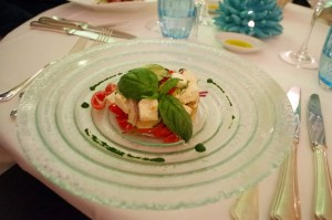 Mezzatorre Chandelier Restaurant Pasta