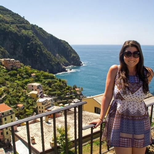 Simone at Cinque Terre