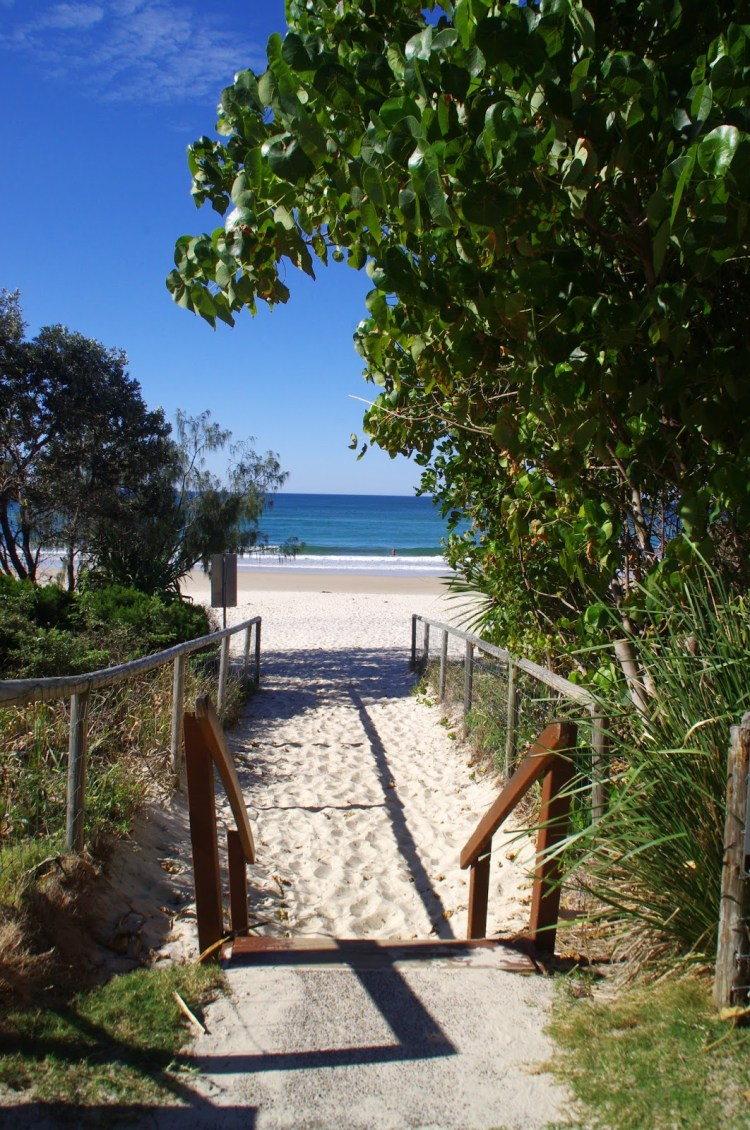 Gold Coast Beach Entry