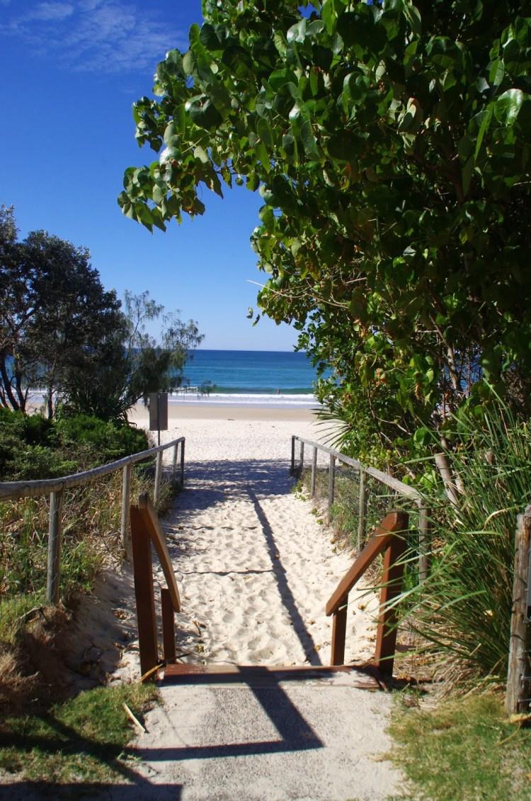 Gold Coast Beach Entry