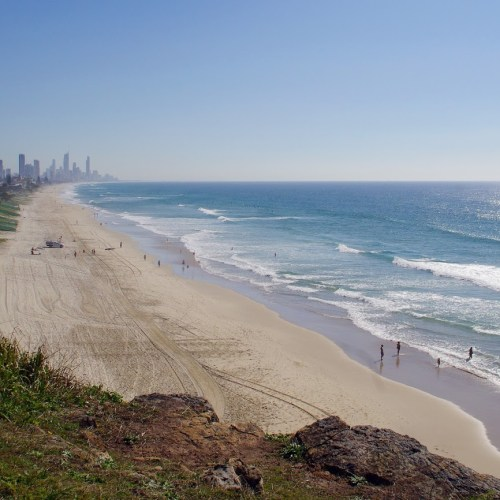 Surfers Paradise Beach View