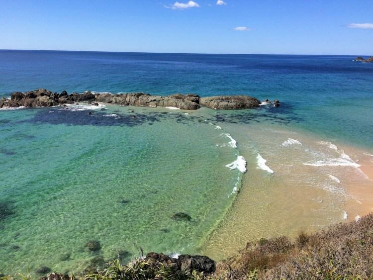 Beautiful crystal clear water Port Macquarie
