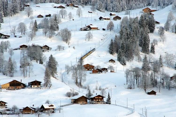 Jungfraujoch Train Journey Grindelwald Switzerland