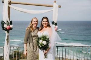 Bride with Austrian best friend