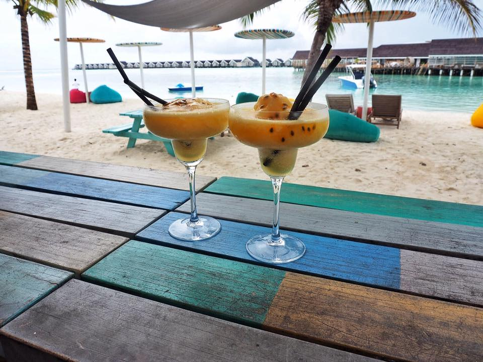 Cocktails in Maldives