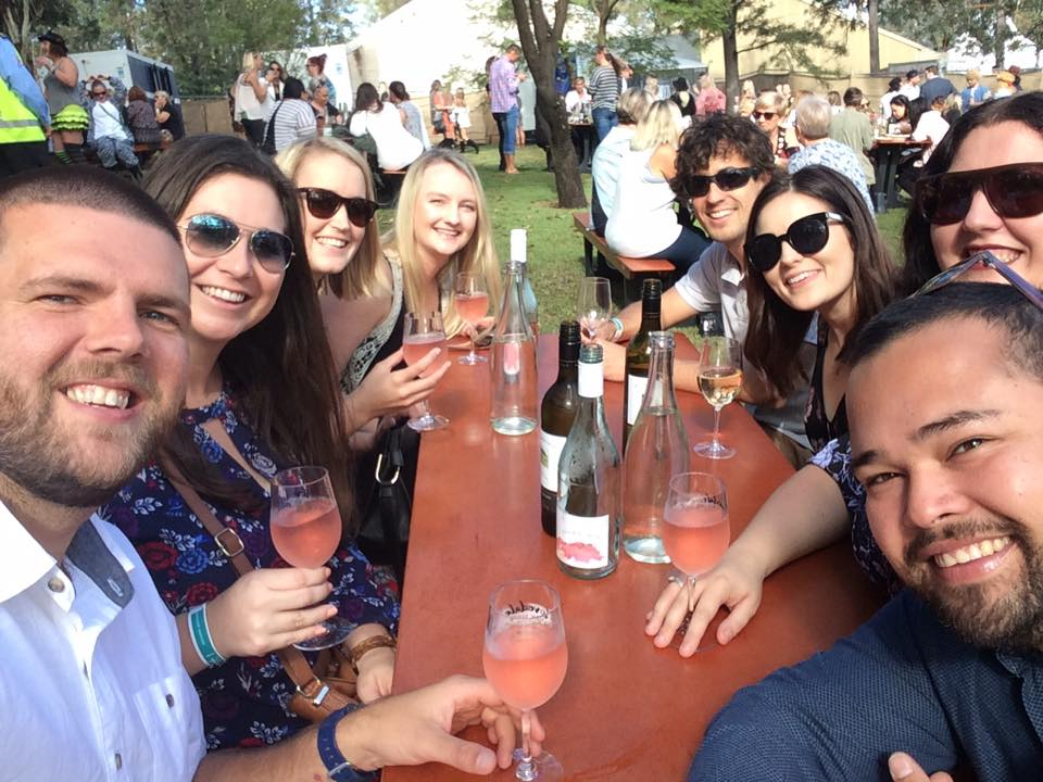 Group at Lovedale Long Lunch