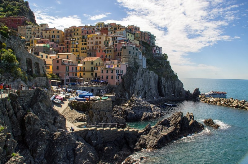 Manarola Cinque Terre from hiking path