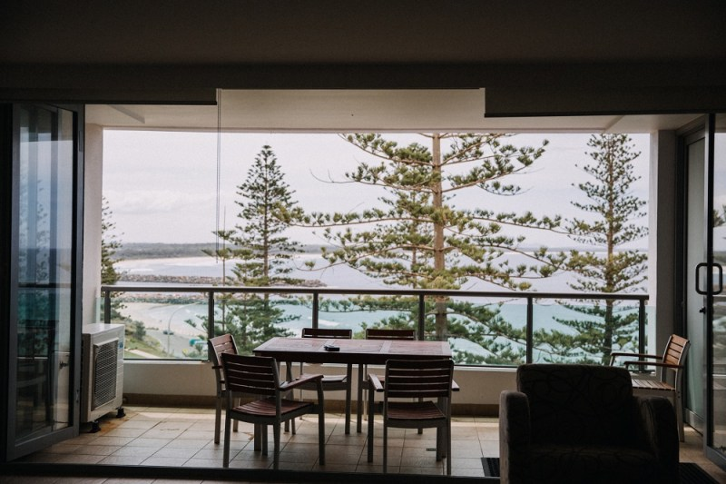 Balcony at Observatory Port Macquarie