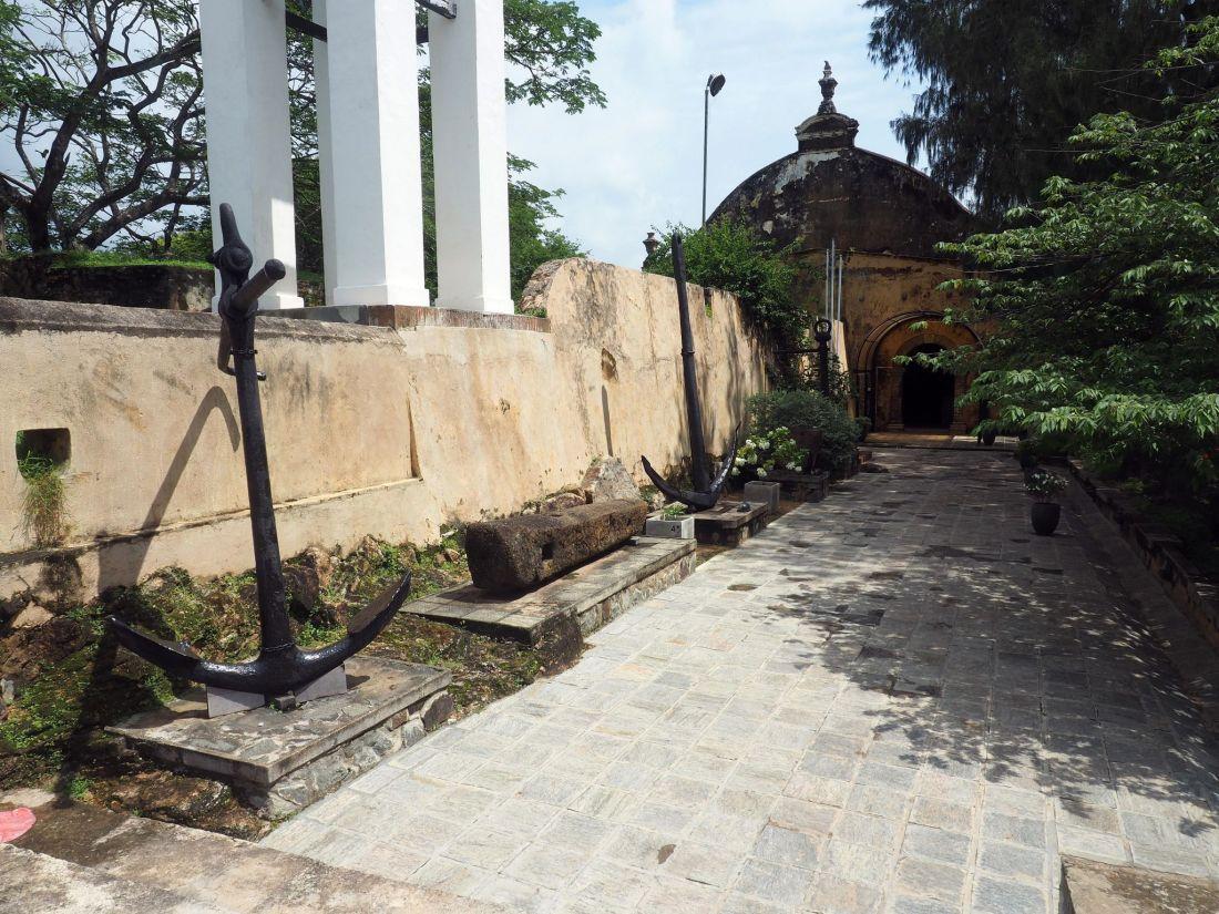 Anchors in Galle Sri Lanka