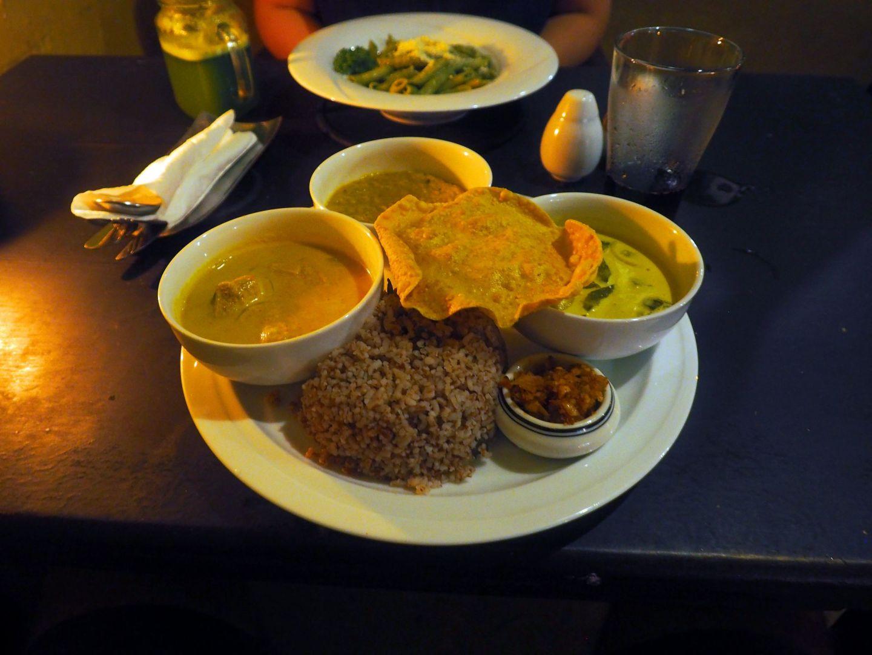 Dinner at Pedlers Inn Galle