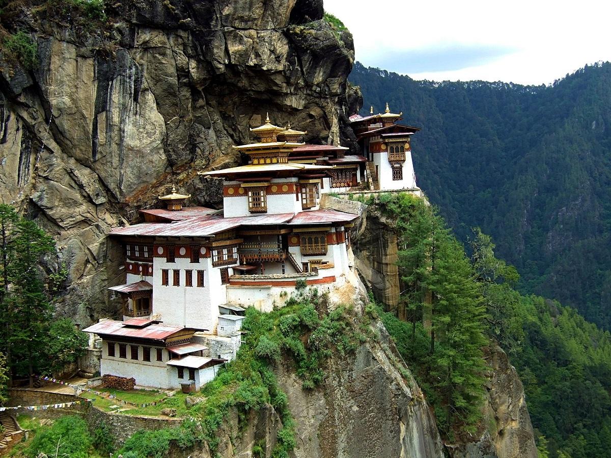 The Tigers Nest Bhutan