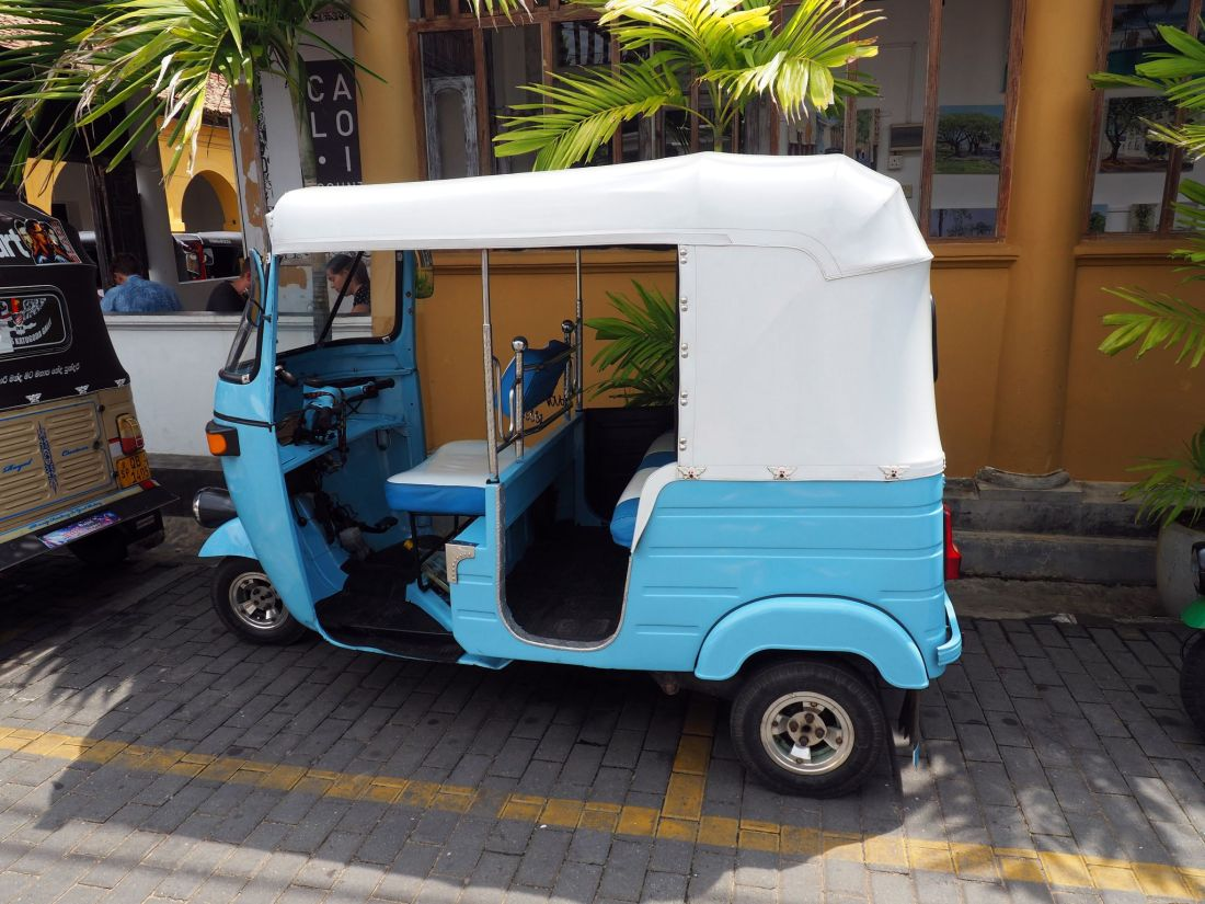 Tuk Tuk in Galle
