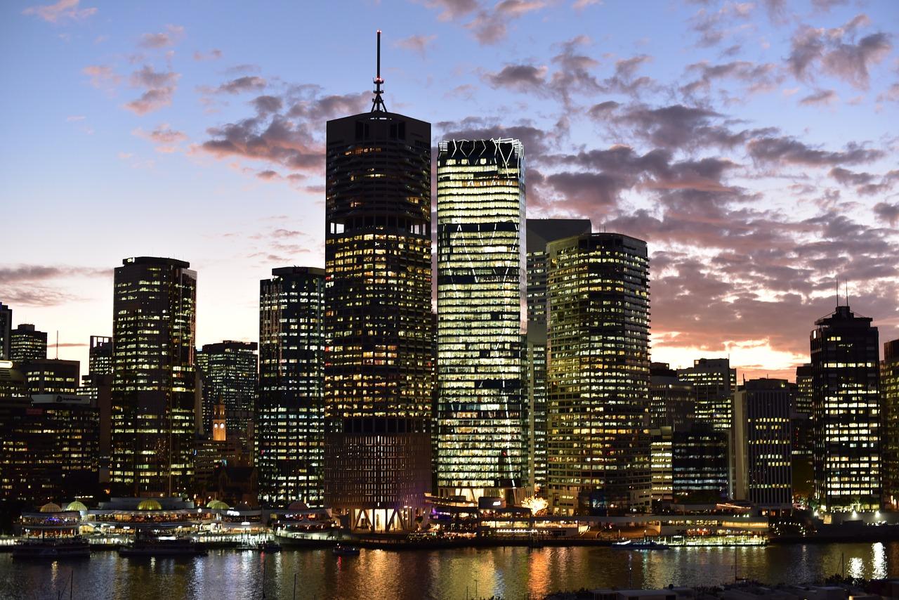 Brisbane Cityscape by Night