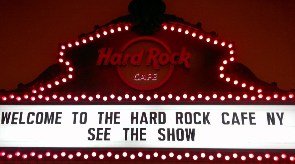 Hard Rock Cafe NYC