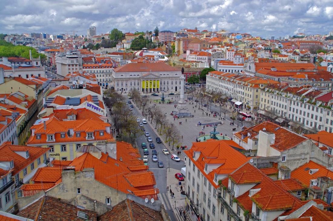 Lisbon Terracotta Rooftops