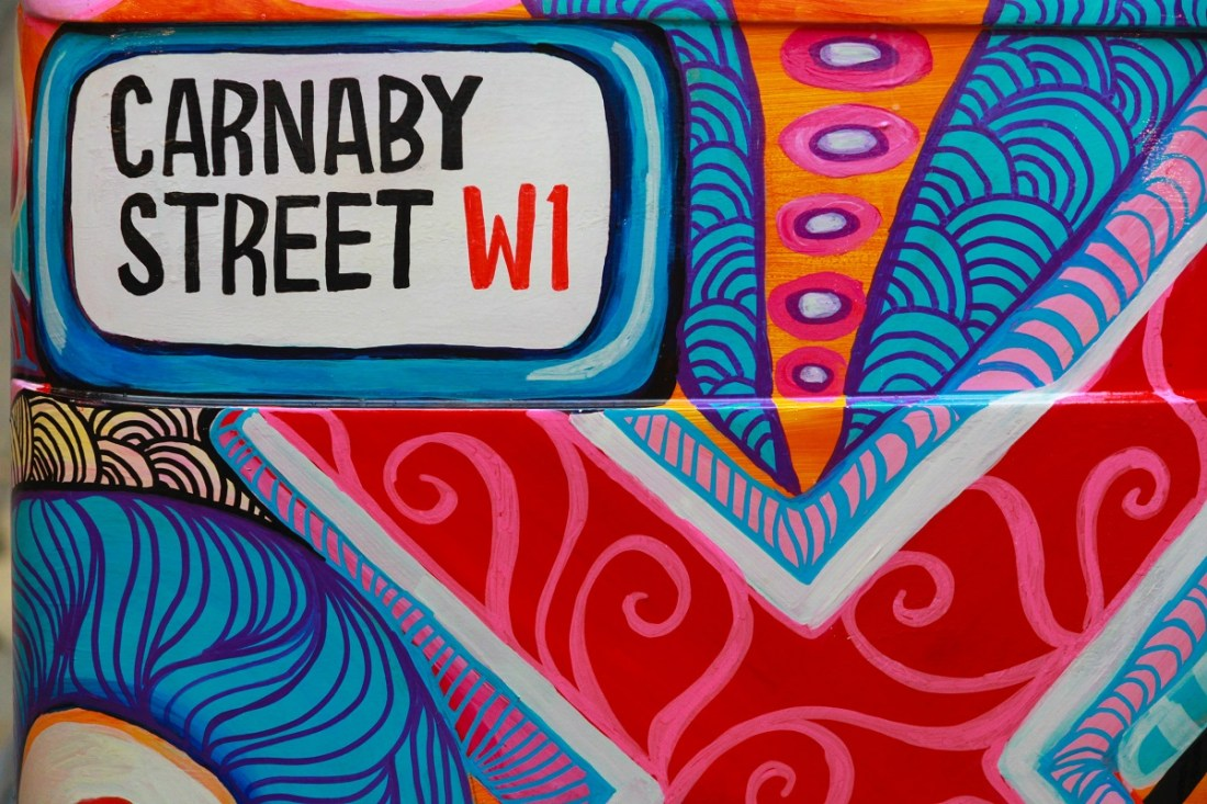 Carnaby Street Sign