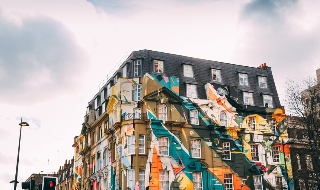 Colourful Building London