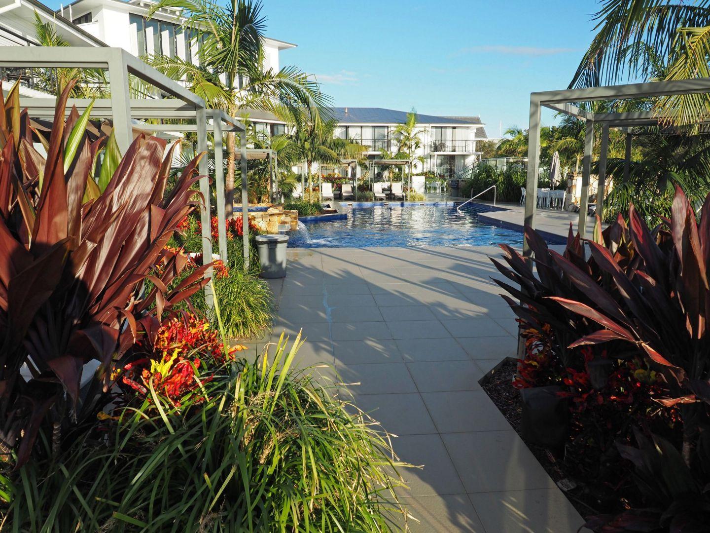 Beautiful landscaping Sails Port Macquarie