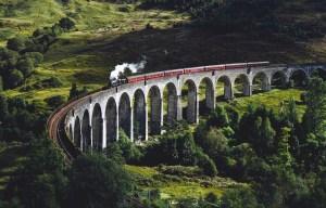 Glen Finnian Viaduct Scotland