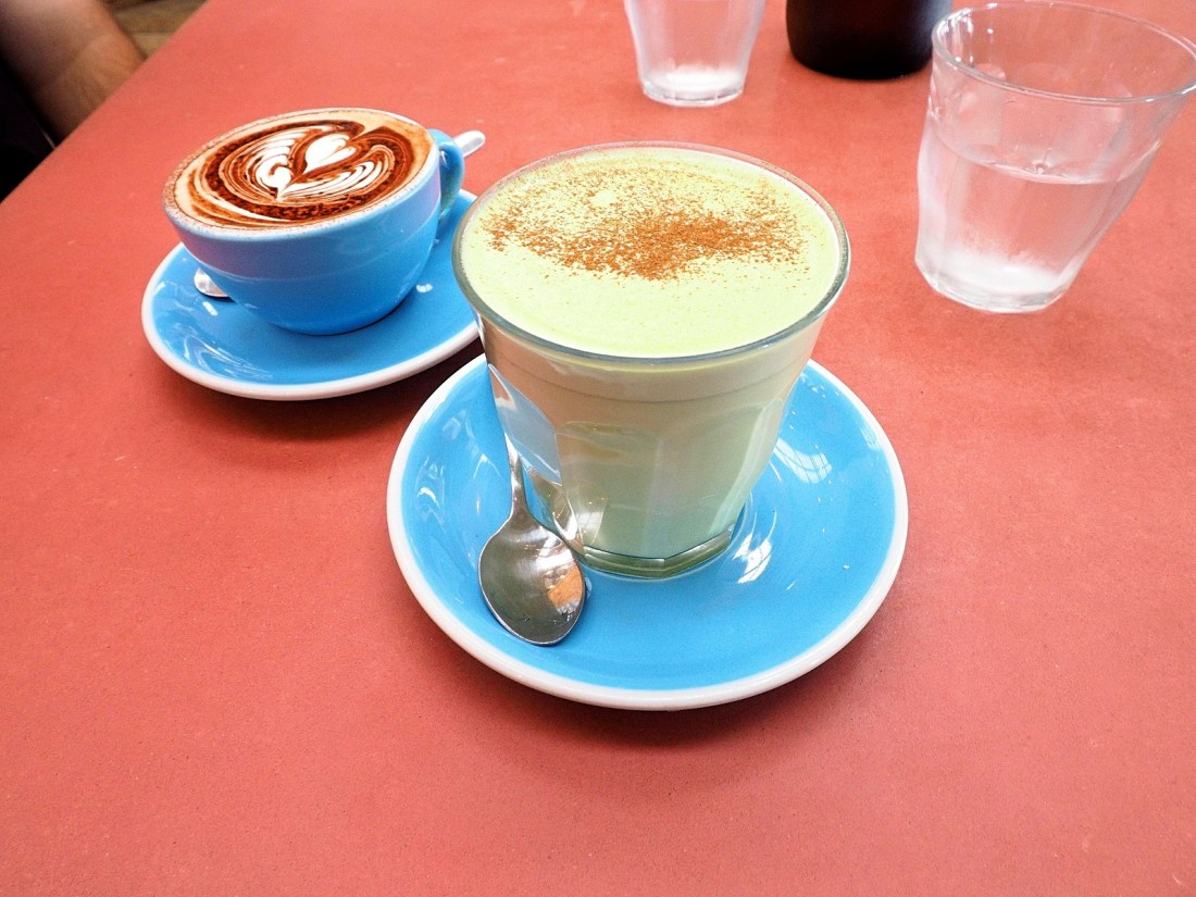 Coffee and Matcha Latte Combi Byron Bay