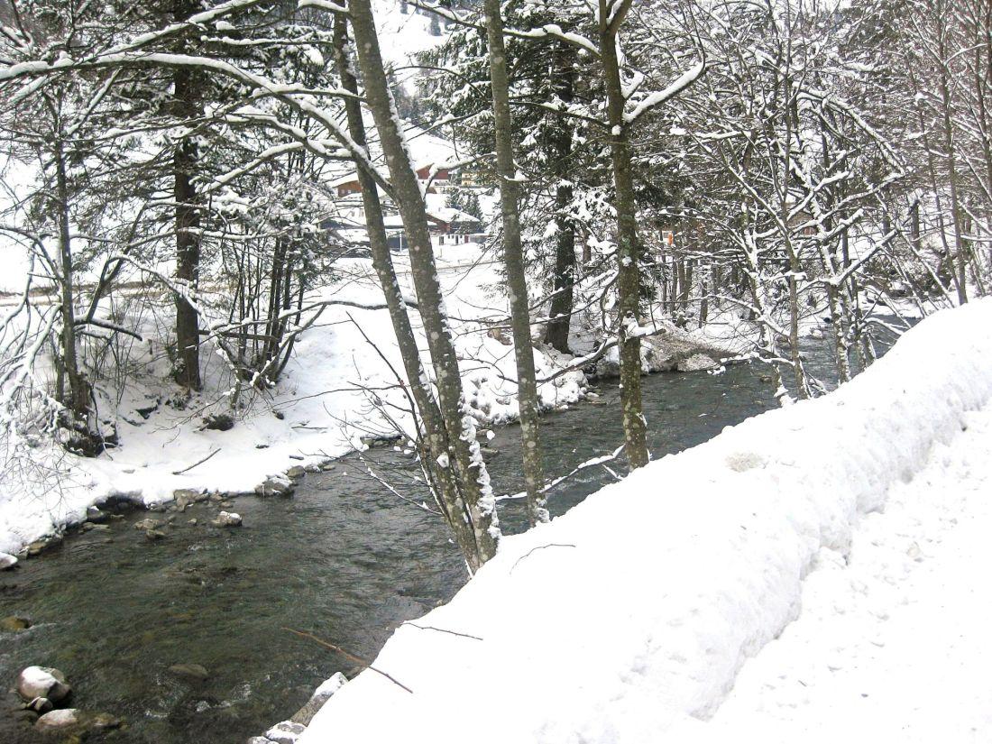 Saalbach River