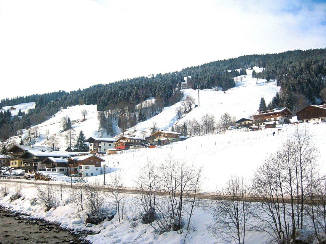 Saalbach in winter